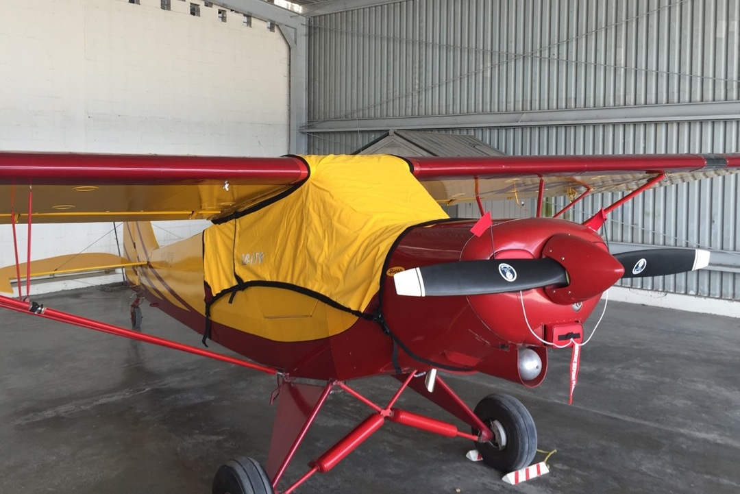 Piper PA-18 Super Cub Aircraft Protection Covers, Reflectors and