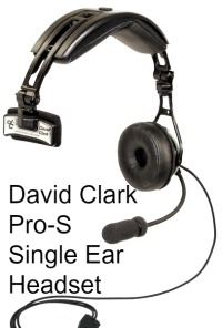 5b9f921fbb0 David Clark Pro Aviation Headset, Commercial transport jet aircraft ...