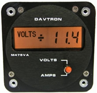 Davtron 475A Two Function Volts/Amps
