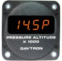 Davtron 650 Displays Pressure Altitude