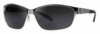 Dual EyeWear AV1 Chrome Frame Aviation Sunglasses