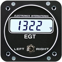 Electronics International E-2 Dual Channel EGT