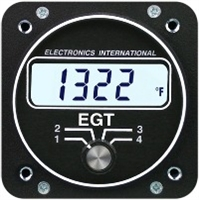 Electronics International E-4 four channel EGT