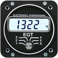 Electronics International E-6 six channel EGT