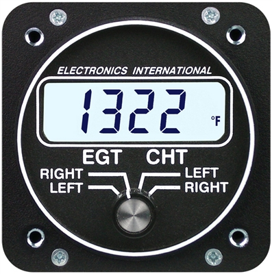 Electronics International EC-2 EGT and CHT