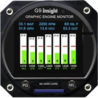 Insight Avionics G9 Aircraft Engine Monitor