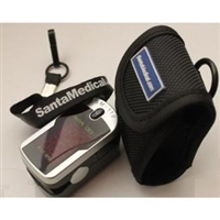 Finger Pulse Oximeter With Neck Strap and Case SM-100