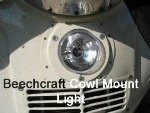 Beechcraft BoomBeam Cowl Mounted Aircraft Lights