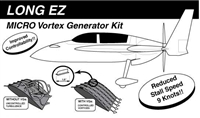 Long EZ Micro Vortex Generators