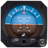 Mid Continent LifeSaver 4300 Series Electric Attitude Indicator