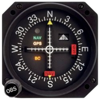 Mid Continent MD200 Course Deviation Indicator Three Inch Screen