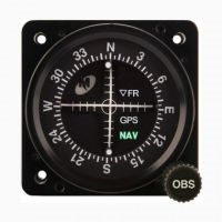 Mid Continent MD222 Course Deviation Indicator Two Inch Screen