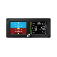 Mid Continent SAM Standby Attitude Module Two Screen Display