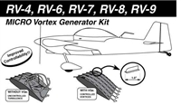 Kit Planes Micro Vortex Generators