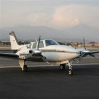 Beechcraft Baron 58 with Factory Radar Blunt nose