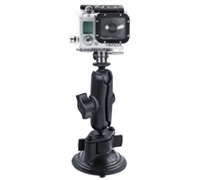 GoPro Hero Ram Twist Lock Suction Cup Mount
