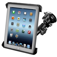 iPad Light Duty Ram Twist Lock Suction Cup Mount