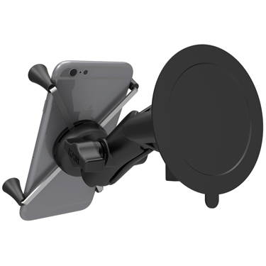 large phone or phablet ram mount tablet universal clamp mount ram mounts glare shield mount. Black Bedroom Furniture Sets. Home Design Ideas