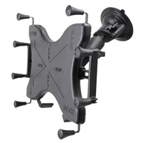 "12"" Tablet Ram Twist Lock Suction Cup Mount"