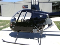 Robinson Helicopter Power Flow Exhaust