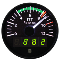 Electronics International TR-1-ITT Inter Turbine Temperature Gauge
