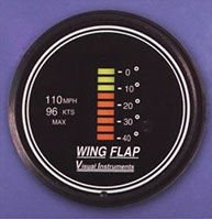 Visual Instruments Cessna Flap Position Indicator FAA Approved 6000-0050