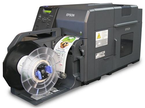 Epson ColorWorks C7500G Inkjet Label Printer