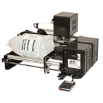 Bottle-Matic OS Semi-Automatic Bottle Labeler - Optical Sensor with Waste Rewinder