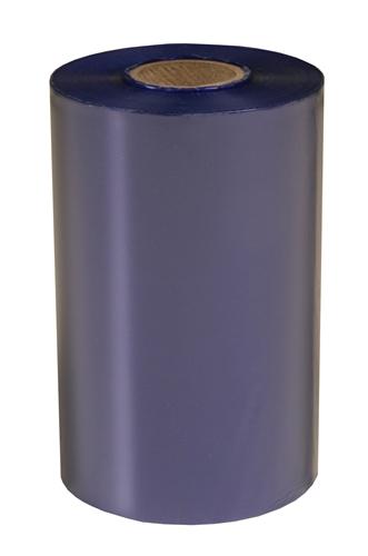 Weber Light Blue Performance Wax Thermal Transfer Label