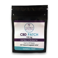 Clearly Better Days - Trans Dermal CBD Patch - 100MG/300MG - 1pk/3pk