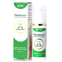 Green Roads - TheraGreen - CBD Pain Cream - 300MG