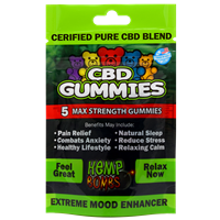 Hemp Bomb - CBD Gummy Bears - 75MG