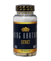 King Kratom - Concentrate Capsules - 60ct. - 4x Strength