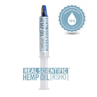 Real Scientific Hemp Oil - 10 Gram Oral Applicator - 3,800MG CBD