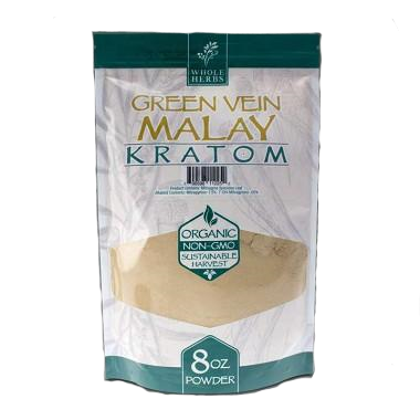 Whole Herbs Kratom Powder - 8oz - Various Strains