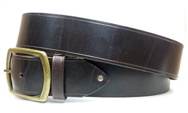 "1.75"" Leather Belt - Brown"