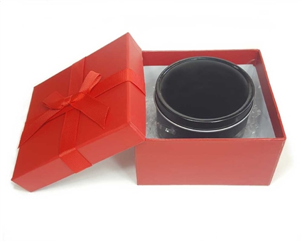 MEDIUM Red Gift Box With Black Gift Tin