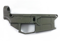 AR 15 80% Polymer GEN2 Lower Receiver with FREE machining jig - Olive Drab Green
