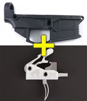 AR15 LOWER & TRIGGER COMBO