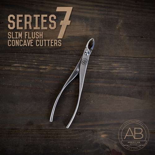 American Bonsai Stainless Steel Flush Concave Cutter: Series 7 Slim