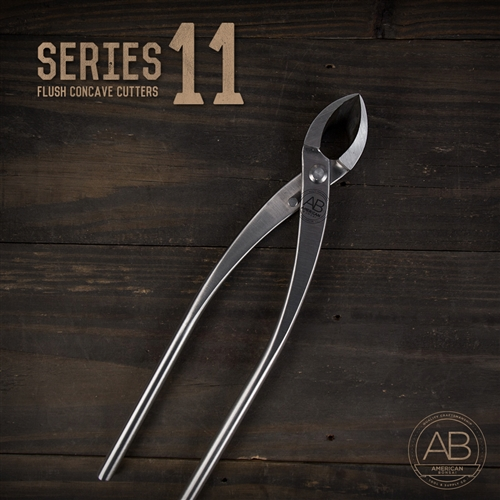 American Bonsai Stainless Steel Flush Concave Cutter: Series 11