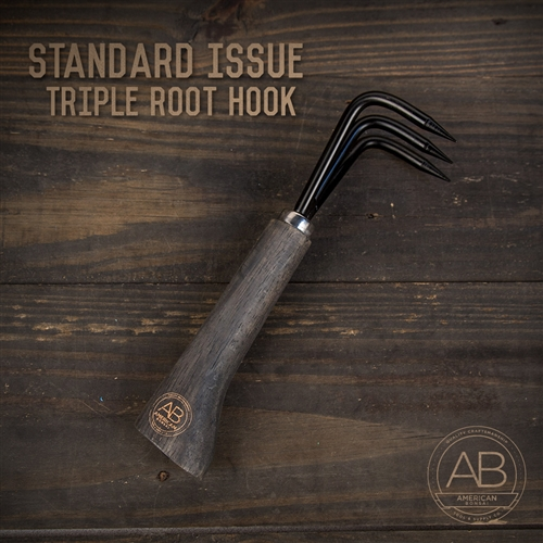 American Bonsai Root Hook Triple-Pronged