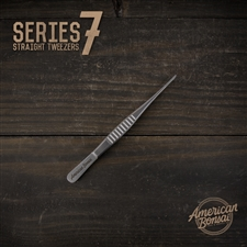 American Bonsai Stainless Steel Straight Tweezers: Series 7