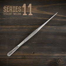 American Bonsai Stainless Steel STRAIGHT Tweezers: Series 11