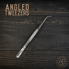 American Bonsai Stainless Steel Angled Tweezers: Standard Issue