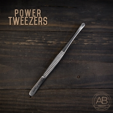 American Bonsai Stainless Steel Power Tweezers: Standard Issue