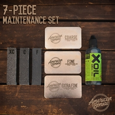 American Bonsai Stainless Steel 7-Piece Diamond Sharpening Kit