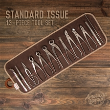 American Bonsai Stainless Steel Standard Issue Tool Set: 13 Piece