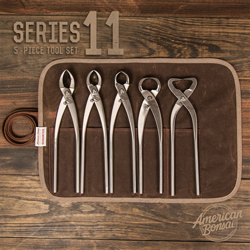 American Bonsai Stainless Steel Series 11 Set: 5 Piece