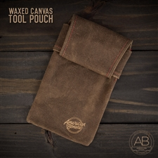 American Bonsai Waxed Canvas Tool Pouch